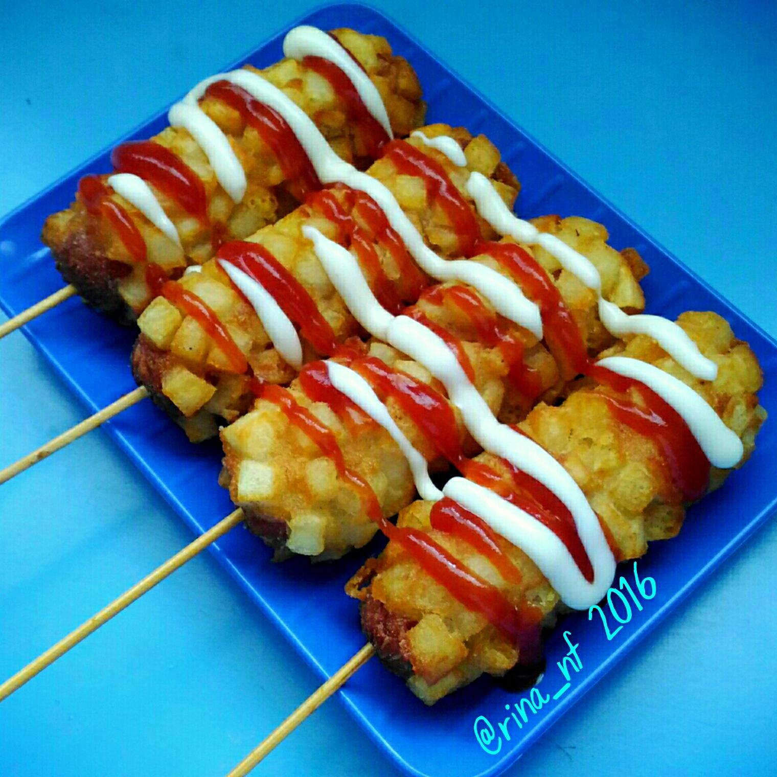 Tokkebi Hotdog Kentang Happy Mommy